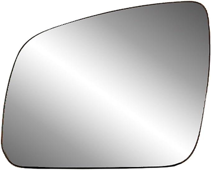 Side Mirror Glass Heated Aspherical Chrome RH Fits MERCEDES C-Class W204 2007-09