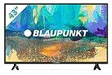 Blaupunkt BS43U3012OEB - Televisor Smart TV LED 43', 4K Ultra HD UHD, HDR10 + HLG, color negro