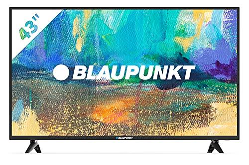 "Blaupunkt BS43U3012OEB - Televisor Smart TV LED 43"", 4K Ultra HD UHD, HDR10 + HLG, color negro"