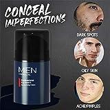 HPZHANG Men's Revitalising Cream, Nourishing Tone Up Cream, Moisturizing Hydrating Brightening Skin Tone Cream, Cover Acne Pores Dry Face Primer, Skin Corrector, Suitable for All Skin Types