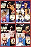 Wrestling Figure WWE Completo Serie Todos 4 Mattel Retro Serie 7
