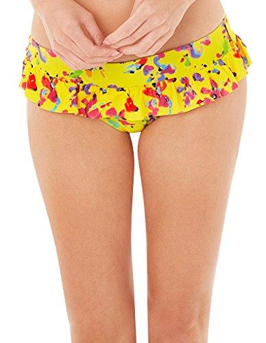 Lepel Swim Sunset Frill Bikini Pant 57570 Yellow 10