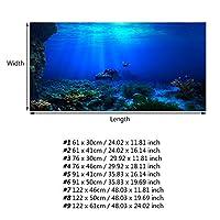 ポスター3D効果PVC水族館ポスター91 X 41Cm水族館用(76*46cm)
