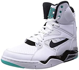 NIKE Men's Air Command Force White/Black/Wolf Grey/Hypr JD Basketball Shoe