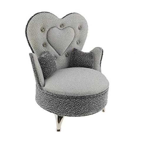 CUTICATE 1/6 Scale Gray Sofa Armchair (Openable) for Dollhouse Bedroom Decor, 12inch Dolls Accessories, Furniture for Blythe, Home Handcrafts