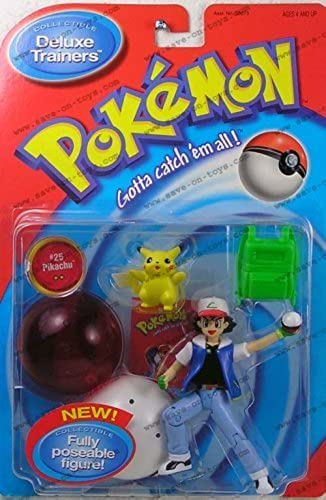 toma Pokemon Deluxe Trainers Ash Ash Ash and  25 Pikachu by Pokemon Center  comprar ahora