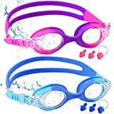 Best Swim Goggles - COOLOO Kids Swimming Goggles, 2-PACK Swimming Goggles Kids Review