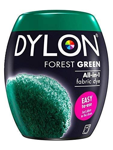 Dylon Pintura para Tela Máquina Pod Forest Verde