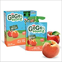Go Go Squeez Fruit Sauce, Variety Pack