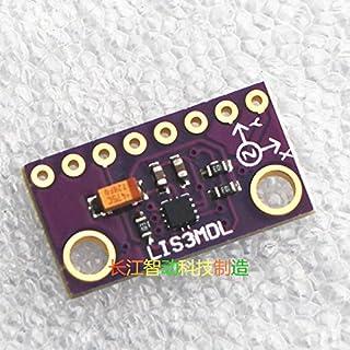 Taidacent LIS3MDL High Precision 3 Axis Magnetometer Sensor Compass Module Tilt Compensated Compass Replacement HMC5883L