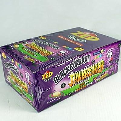 zed candy zed blackcurrant jawbreaker- 30pk Zed candy ZED BLACKCURRANT JAWBREAKER- 30pk 51eT6UvrmGL