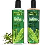 Desert Essence - Shampooing et Après-Shampooing Régénérateur au Melaleuca Thérapeutique - Pack...
