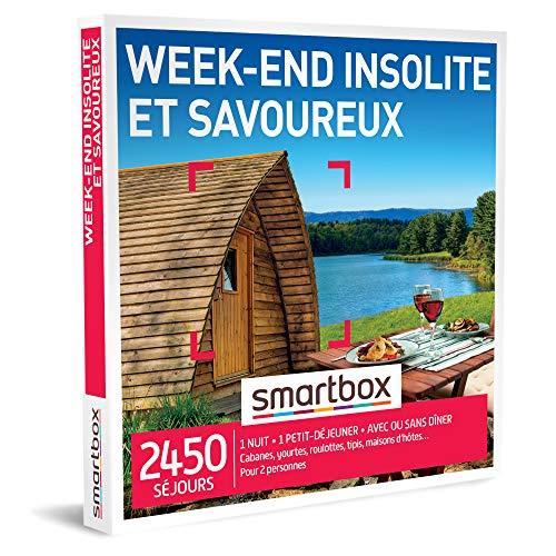 SMARTBOX - Coffret Cadeau Couple - Idée cadeau original : Weekend insolite à deux pour une expérience inoubliable