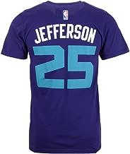 adidas Men's Al Jefferson Charlotte Hornets Player T-Shirt