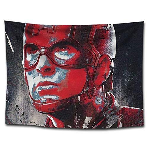Tapiz para colgar en la pared decoración para colgar en la pared para sala de estar dormitorio Marvel Avengers bar decoración tapiz superhéroe Avengers tela de fondo Spiderman dormitorio cama