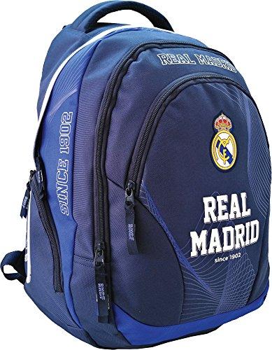 Real Madrid Zaino della Scuola Borsa Zaino 45 x 31 x 16