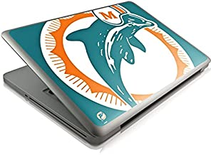 Skinit Decal Laptop Skin for MacBook Pro 13 (2011-2012) - Officially Licensed NFL Miami Dolphins Retro Logo Design