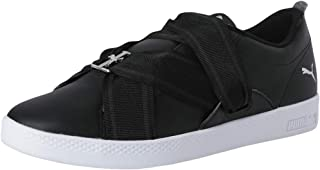 Puma Women's Smash WNS Buckle Leather Sneakers