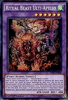 Yu-Gi-Oh! - Ritual Beast Ulti-Apelio (THSF-EN028) - The Secret Forces - 1st Edition - Secret Rare