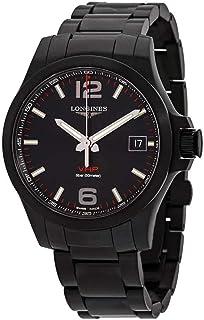 Longines Conquest V.H.P. Perpetual Quartz Black Dial Men's Watch L3.716.2.56.6