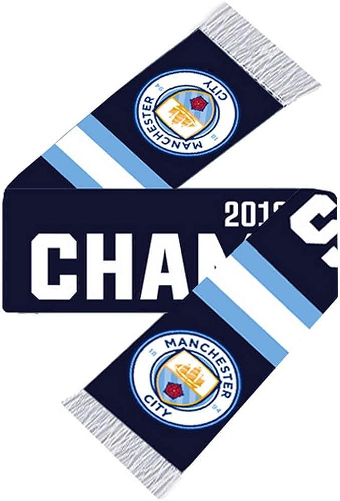 Man City Champions 2018 19 Scarf