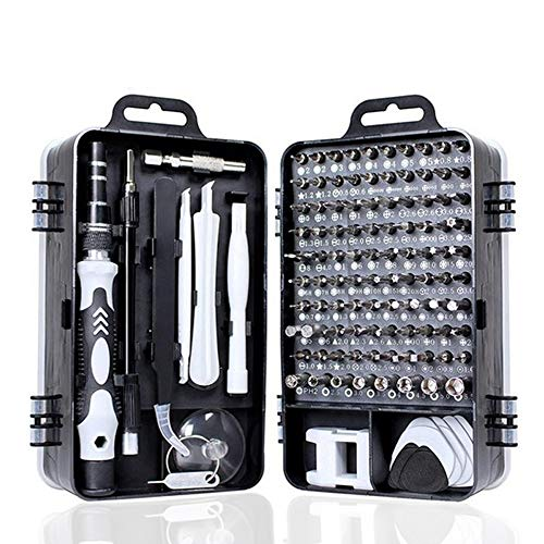 fang zhou Multifunction Precision Magnetic Laptop Screwdriver Set 135 in 1 Electronics Repair Tool Kit, for MacBook, PC, iPhone, Watch, Xbox Controller Repair
