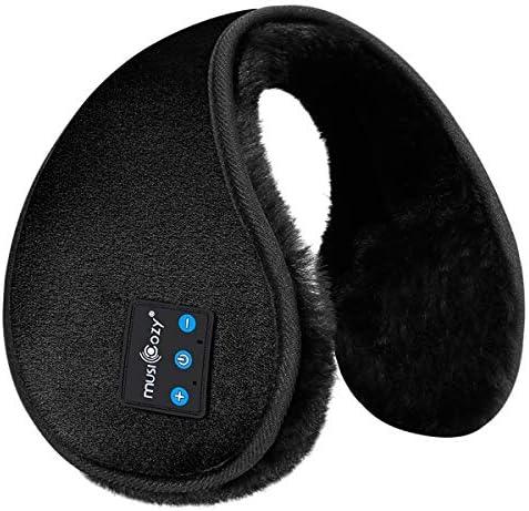 Bluetooth Ear Warmers Earmuffs for Winter Women Men Kids Girls MUSICOZY Bluetooth Ear Muffs product image