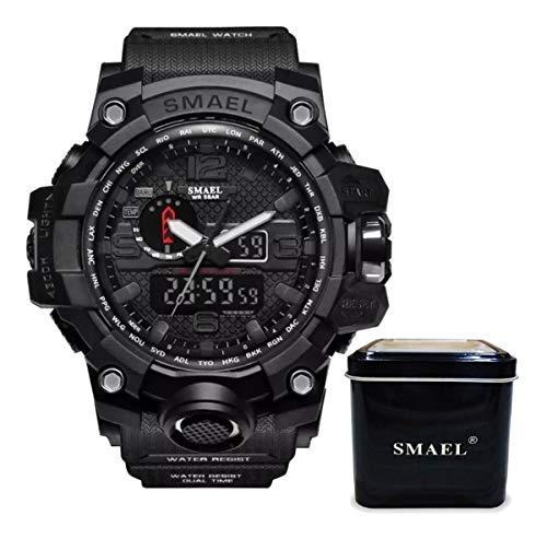 Relogio Masculino Militar Blackops G-Shock Sport Preto Smael 1545