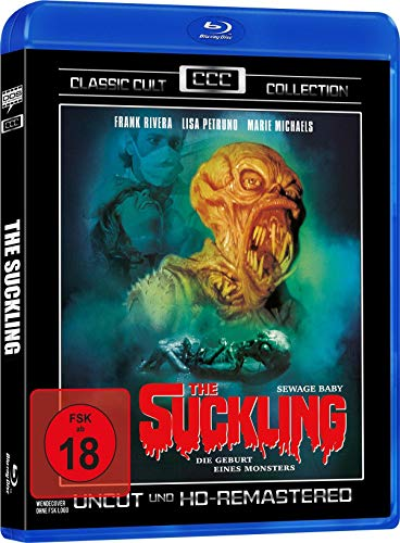 The Suckling - Classic Cult Collection - Uncut (HD Remastered) [Blu-ray]
