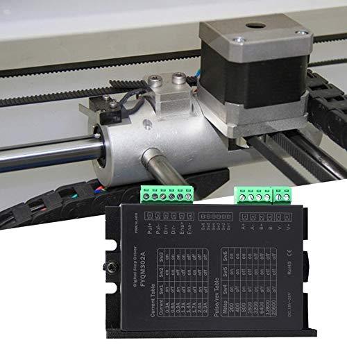 L-Yune,bolt 1pc DC de Fase del Motor de Pasos del Controlador FYQM302A DC18-36V 0.3-2.3A for 20 28 35 39 42 Motor Microstep Controlador