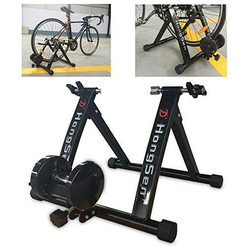 Kaibrite - Rodillo de entrenamiento con freno magnético para bicicleta de carreras,...