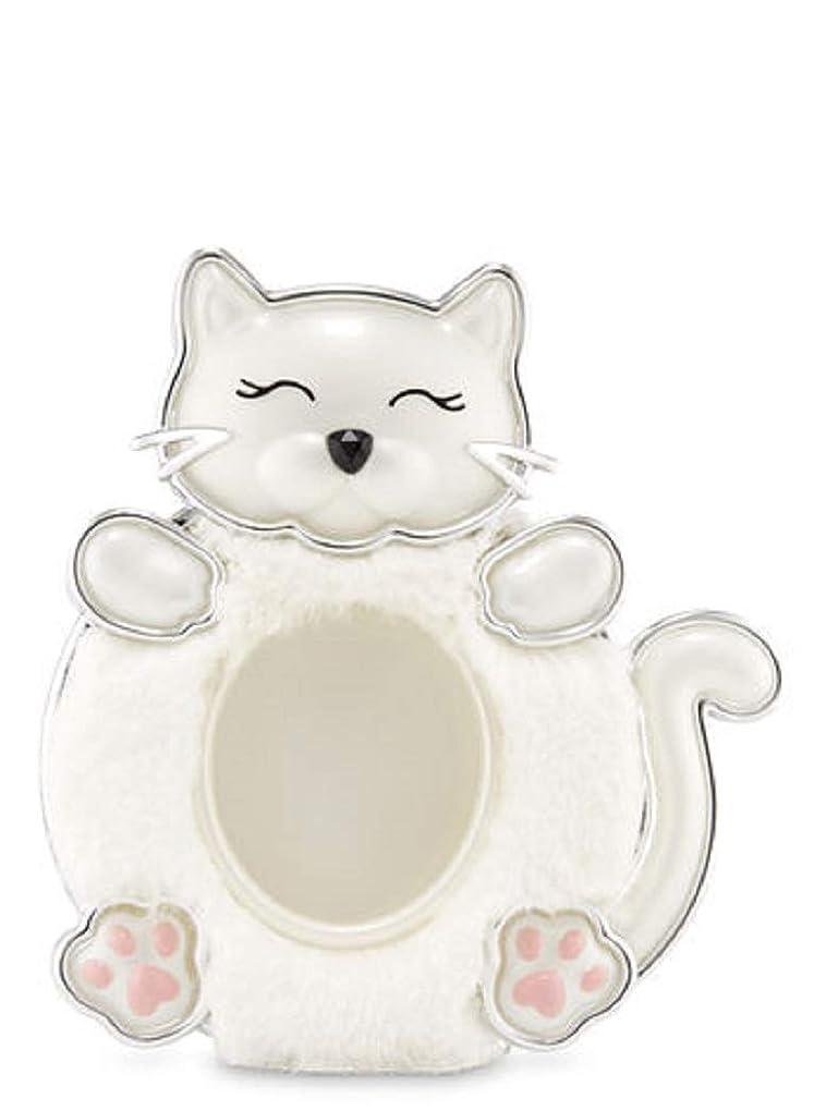 決めます耐えられない性能【Bath&Body Works/バス&ボディワークス】 クリップ式芳香剤 セントポータブル ホルダー (本体ケースのみ) 白猫 Scentportable Holder Fuzzy Kitty [並行輸入品]