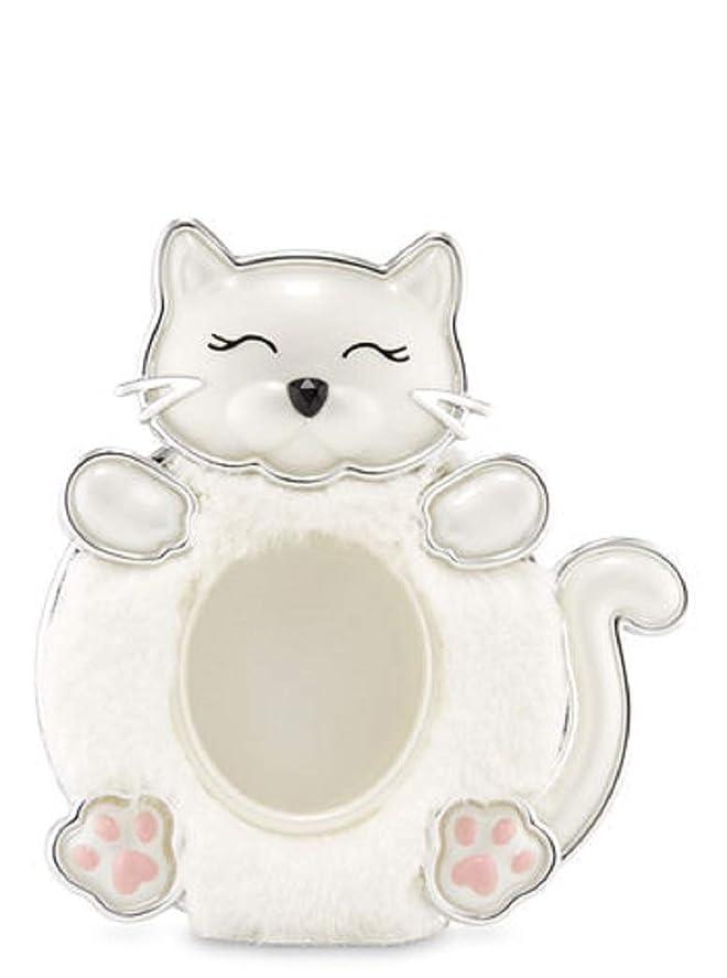 フリッパー意義閲覧する【Bath&Body Works/バス&ボディワークス】 クリップ式芳香剤 セントポータブル ホルダー (本体ケースのみ) 白猫 Scentportable Holder Fuzzy Kitty [並行輸入品]