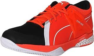 Puma Unisex's Explode Xt Hybrid 2 Black Whit Badminton Shoes