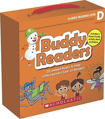 Buddy Readers (Parent Pack): Level D: 20 Leveled Books for Little Learners