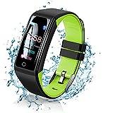 Smartwatch Orologio, 0.96 Pollici Display Fitness Tracker Uomo Donna Impermeabile IP67 Sma...