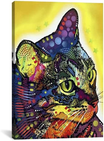 iCanvasART Confident Cat by Dean Russo Canvas Print 4242 18 x12 75 deep product image