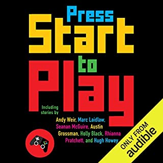 Press Start to Play audiobook cover art