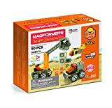 Magformers Amazing Construction 50Piece,...