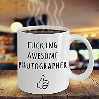 Photographer Gifts Fucking Awesome Photographer Funny Photographer Mug Photographer Gift Ideas Photographer Appreciation Gifts,Thank you