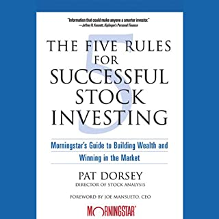 The Five Rules for Successful Stock Investing cover art