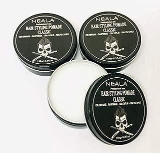 Cera para pelo de hombre - Neala Classic con cera de abejas - Pack 3 latas x 150ml