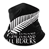 Nouvelle-zélande All Blacks Rugby Face Cover Neck Gaiter Multi-Functional Balaclava Bandana