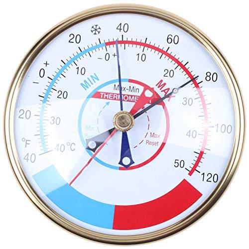 Jarhit 5 Zoll Minimum Maximum Gew?Chs Haus Thermometer Indoor Fabrik Lagerhaus Temperatur Ger?T