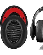 Geekria Elite fårskinn ersättningsöronkuddar för JBL Everest 700, V700BT hörlurar öronkuddar, headset öronkudde reparationsdelar (svart)