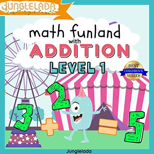 Math Funland with Addition: Level 1  By  cover art