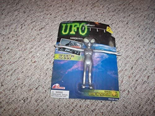 UFO Files grau Abductor Bendable Figure by Toy Concepts