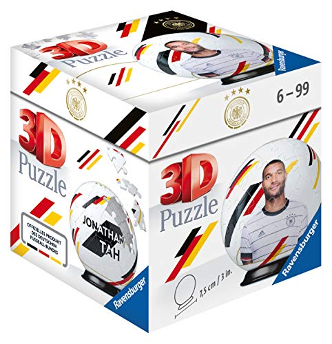 Ravensburger 3D Puzzle 11190 - DFB-Nationalspieler Jonathan Tah - 54 Teile
