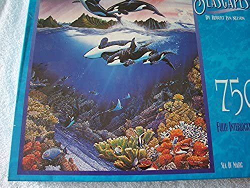 Seascapes by Robert Lyn Nelson Sea of Magic 750 Piece Puzzle by MB Puzzle