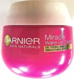 3x Garnier Miracle Wake Up Cream Anti-Müde Haut - Anti-Age 50ml